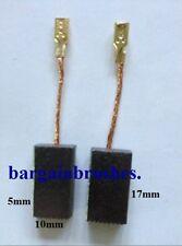 CARBON BRUSHES for BOSCH GEB 1000 CE OSB 1020 1213 GWS10-125 GWS 11-125 1400 D47