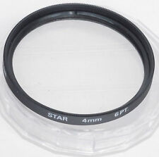 GENERIC 52mm Star 4mm 6PT Filter + Case