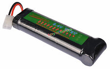 1x 8.4V NiMH 3800mAh Super Power Rechargeable Battery Pack For RC Tank Airsoft
