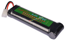 1x 8.4V NiMH 3800mAh Super Power batería recargable para RC tanque Airsoft