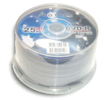 250-Pak =ACRO CIRCLE (by Optodisc)= =WHITE INKJET= Mini DVD-R for Camcorders