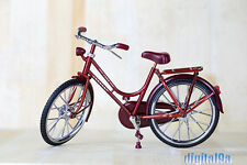 "1/6 Scale Scene Accessories Red A Bike/Bicycle Model Wheel Movable F 12"" Figure"