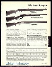 2003 WINCHESTER Camp Defender, New Model 9410 Packer Supreme Sporting Shotgun AD