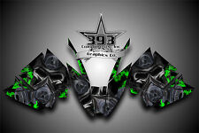 Arctic Cat ProClimb ProCross Graphics Decal Kit Wrap Toxic Green 2012 - 2015