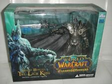 World of Warcraft WoW Arthas Menethil Lich King Deluxe Collector Figure in Box