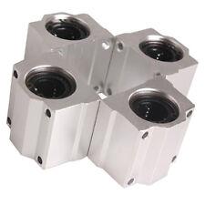 4 Stueck SC20UU 20 mm Aluminium Linear Motion Kugelfuehrung Buchse fuer CNC DE