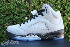 NIKE AIR JORDAN 5 GS V SZ 7 Y WOLF GREY 2016 BLACK KIDS GRADESCHOOL 440892 008