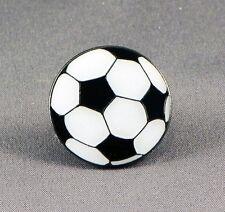 Metal Enamel Pin Badge Brooch Football Soccer Ball