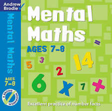 Mental Maths for Ages 7-8 by Andrew Brodie (Paperback, 2003)