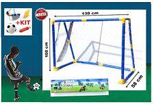 porta da calcio mini per bambini + set 130 x 58 x 100 cm  Prodotto marchio CE