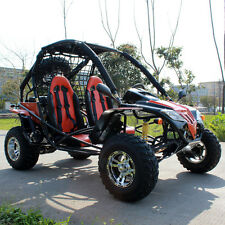 DongFang 169CC Go Kart Matte Black DF200GKF Buggy with FREE Spare Tire