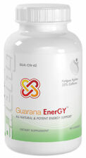 1 Bottle Guarana Max Energy Fatigue Fighter 22% Caffeine Guarana Seed Extract