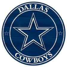 "DALLAS COWBOYS WOOD SIGN 20""X20'' BRAND NEW FREE SHIPPING WINCRAFT"