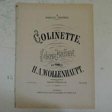 Antico Salon PIANOFORTE Colinette H A wollenhaupt