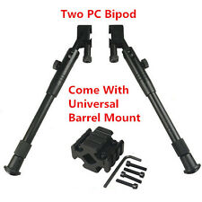 """9""""-12"""" Bipod Two PC Rail Bipod with Universal Mount for Mosin Nagant and SKS"""