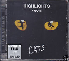 """Highlights from Cats"" Andrew Lloyd Webber Japan Limited Numbered Hybrid SACD CD"