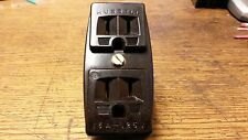 VINTAGE NEW  HUBBELL electric OUTLET adapter 2 prong to 3  HEAVY DUTY Bakelite
