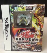 NEW Bakugan: Defenders of the Core Limited Edition Nintendo DS/XL/3DS w/ Figure