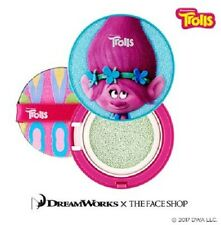 [The Face Shop] Tone Up Cushion 15g #01.Mint - Trolls Edition