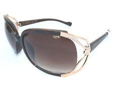 NEW women's JESSICA SIMPSON J405 gold oversized sunglasses