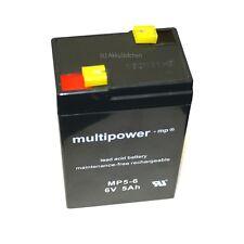 5Ah!! Bleigel Akku 6V bgl. Q-Power QP6-4.5 QP6-5 QP6-4 Batterie Accu 4,2 4,5