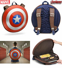 Marvel 2015 Avengers Age of Ultron Captain America Hard Plastic Shield Backpack