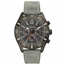 Brand New Nautica Men 45mm NST 402 Chronograph Watch N18720G