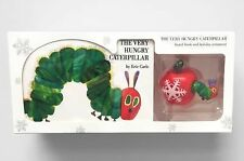 THE VERY HUNGRY CATERPILLAR Board Book • Holiday Ornament • by Eric Carle
