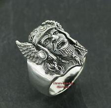 Ring Silberring Gothic Silber 925 WIKINGER Viking Krieger Warrior