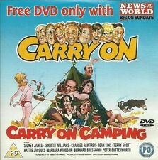 CARRY ON CAMPING DVD (1969) News of the World SID JAMES comedy film movie R2