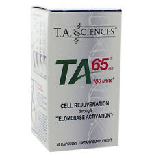 T.A. Sciences TA-65 Telomerase Activation Cell Rejuvenation 100 Units - 30 Caps