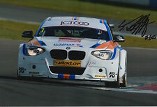 Sam Tordoff Hand Signed 12x8 Photo BMW Touring Cars.