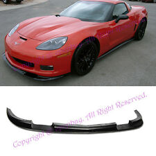 New Fits 05-13 Corvette C6 Z06 ZR1 ABS Plastic Front Splitter Bumper Lip Kit