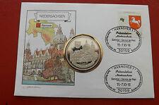 * Numisbrief 1993 mit Medaille * Niedersachsen