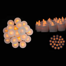 Mini Flameless LED Candle Light Battery Tea Lights Party wedding Home Decor A5