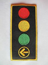 #2349 Traffic Sign,Traffic Light Embroidery Iron On Applique Patch