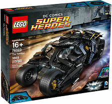 Lego 76023 The Tumbler Batman DC Comics (Retired/Sold Out) Dark Knight Trilogy