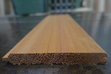 *SAMPLE* £3.89 per metre WESTERN RED Cedar Timber Cladding Tongue and Groove