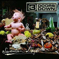 "3 DOORS DOWN ""SEVENTEEN DAYS"" CD NEUWARE!!!!!!!!!!!!!!"