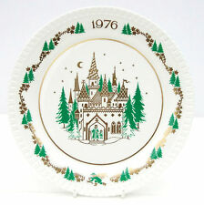 Vintage Spode Christmas Carol Collector Plate Bone China King Wenceslas 1976