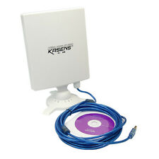 Kasens N9600 802.11b/g/n 6600MW USB Wireless Wifi Adapter 80dbi 150Mbps Antenna