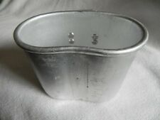 Government Issue Military Surplus L-Handle NATO Canteen Cup Aluminum