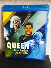 Queen Adam Lambert Rock In Rio 2015 Blu-Ray Disc