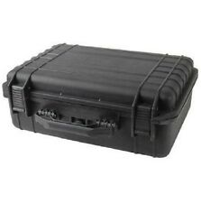 "18"" Black Tactical Weatherproof Equipment Case"