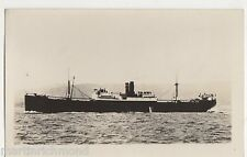 S.S. Clan Campbell Shipping Real Photo Postcard, B549