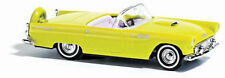 HO Busch 1956 Ford Thunderbird Convertible in YELLOW # 45230 : Model Car