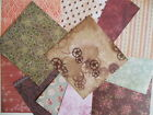 "Santoro Willow 6x6"" Scrapbook Papers 12 sheets vintage look & floral"