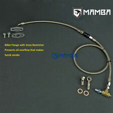 MAMBA Turbo Oil Feed Line Kit For Nissan Patrol TD42 GQ w/ HT18 turbo w/ filter