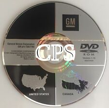 Only 2007 2008 2009 Cadillac SRX GPS Navigation OEM DVD Map U.S Canada VER 1.10