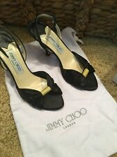 Barely Worn Jimmy Choo Satin Sandals